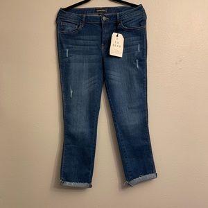 Generra Ankle Length Capri Denim Jeans